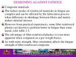 designing against fatigue28