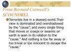 from bernard cornwell s scoundrel