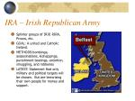 ira irish republican army