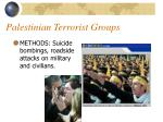 palestinian terrorist groups