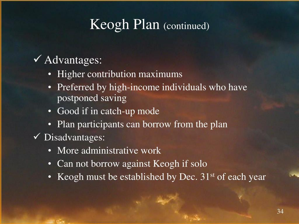 Keogh Plan