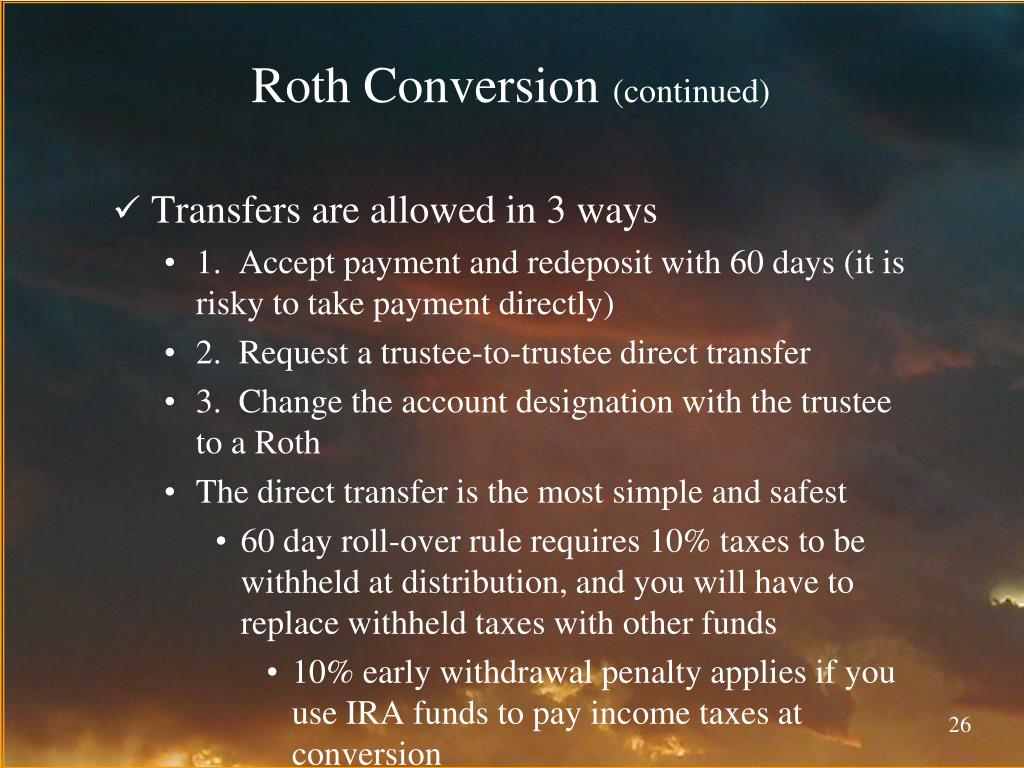 Roth Conversion