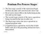 pentium pro process stages