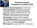 extractive industry transparency initiative eiti