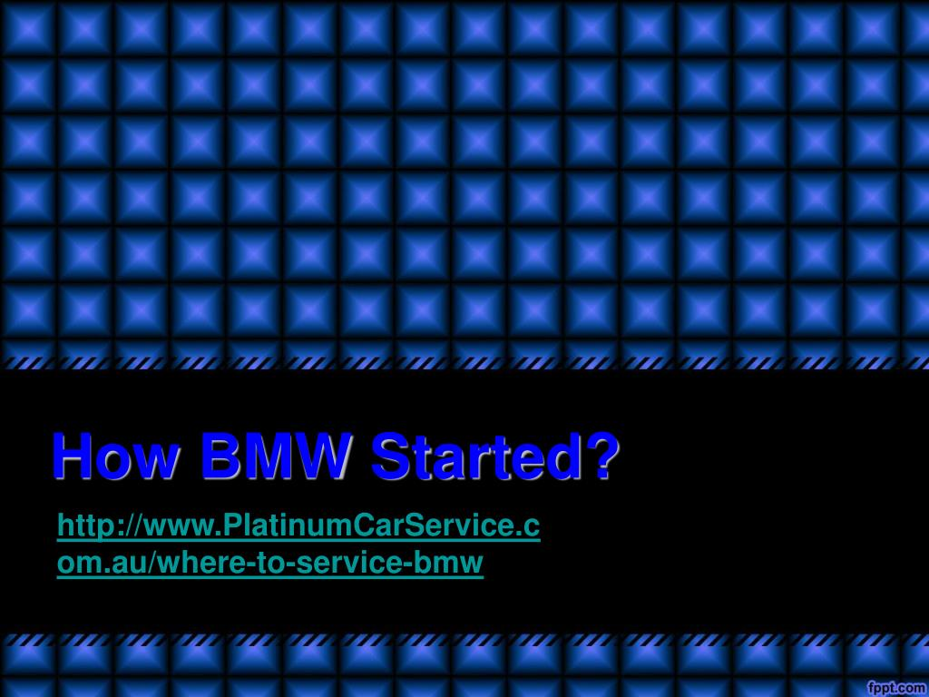how bmw started l.