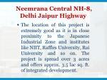 neemrana central nh 8 delhi jaipur highway3