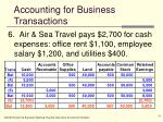 accounting for business transactions13