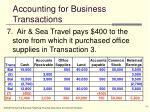 accounting for business transactions14