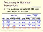 accounting for business transactions16