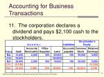accounting for business transactions18