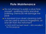 flute maintenance9