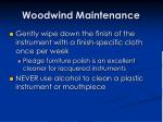 woodwind maintenance