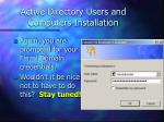 active directory users and computers installation64