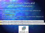 active directory users and computers installation65