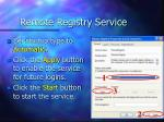 remote registry service91