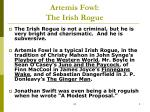 artemis fowl the irish rogue