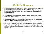 colfer s gnomes