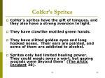 colfer s sprites