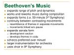 beethoven s music