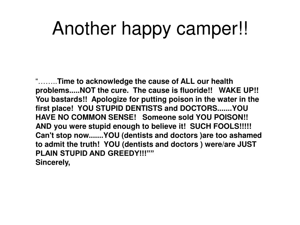 Another happy camper!!