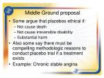 middle ground proposal