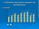3 situaci n del sector despu s de las reformas19