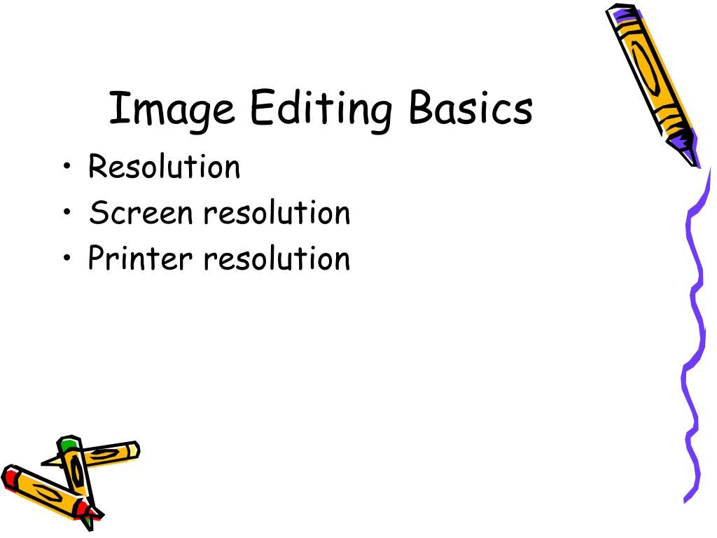 image editing basics l.