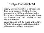 evelyn jones rich 54