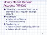 money market deposit accounts mmda