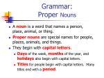 grammar proper nouns