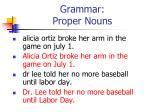 grammar proper nouns31