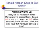ronald morgan goes to bat tuesday37