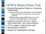 ltcip medical home visits