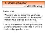 4 model estimation 5 model testing37