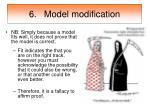 6 model modification40