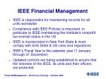 ieee financial management