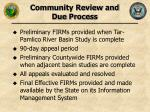 community review and due process33