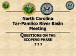 north carolina tar pamlico river basin meeting