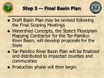 step 5 final basin plan