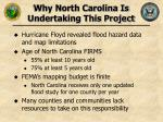 why north carolina is undertaking this project8