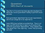 queensland npo chart of accounts