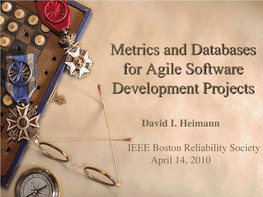 metrics and databases for agile software development projects l.