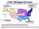 cnic jb region overview