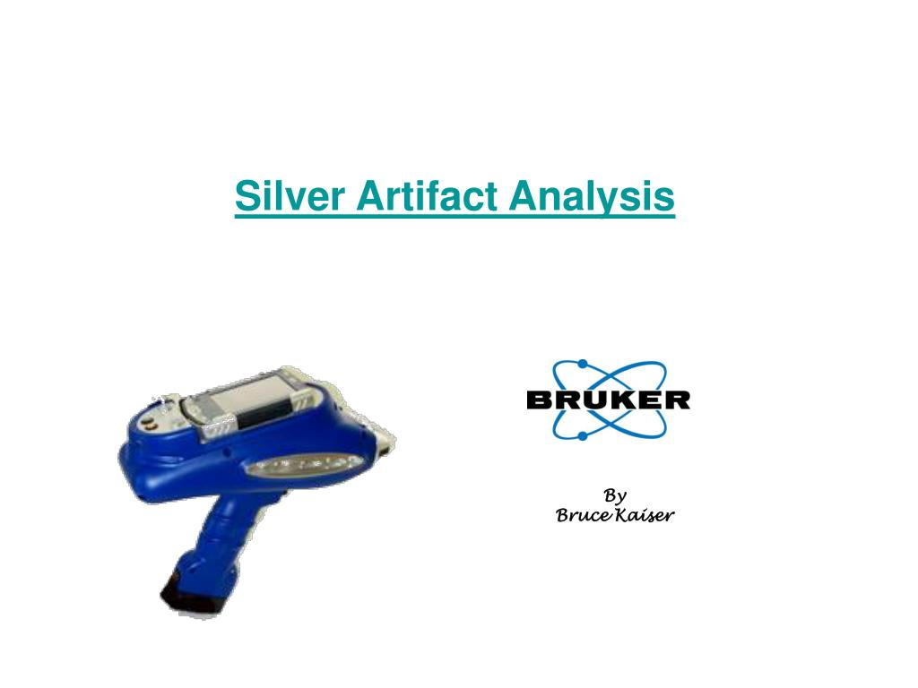 silver artifact analysis l.