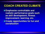 coach created climate18