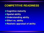 competitive readiness5