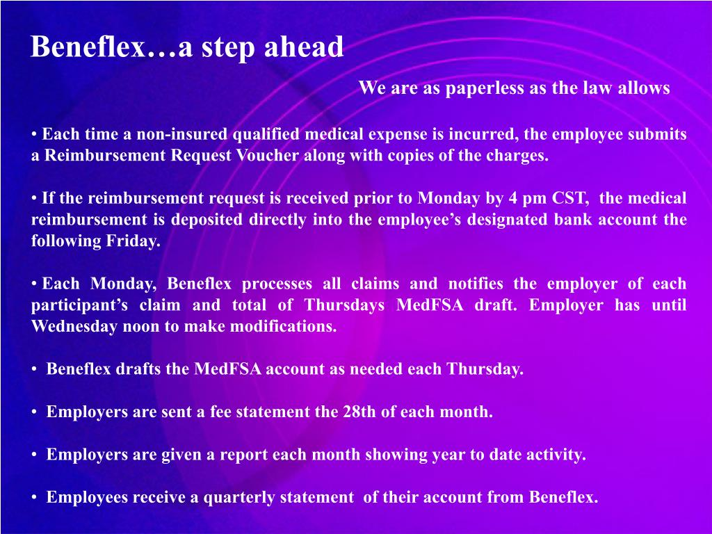 Beneflex…a step ahead