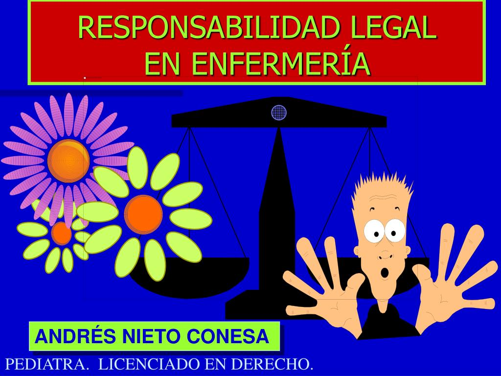 responsabilidad legal en enfermer a l.