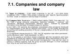 7 1 companies and company law