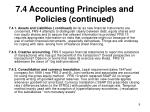 7 4 accounting principles and policies continued